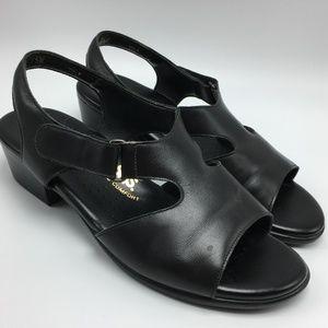 SAS Suntimer Tripad Comfort Leather Sandals Black